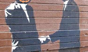 Handschlag graffiti