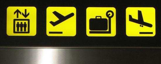 Flughafenanzeige