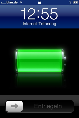 internet Tethering iphone aktiviert 2