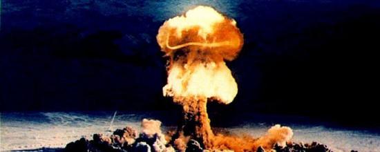 Bombenexplosion