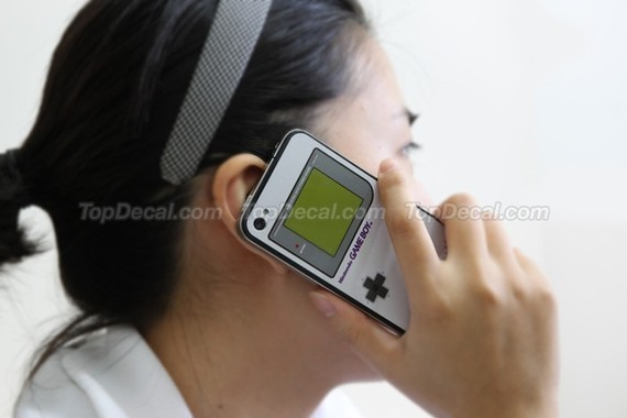 iPhone Game Boy Skin