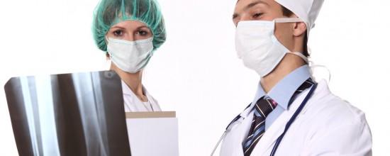 Arzt Röntgen Bild