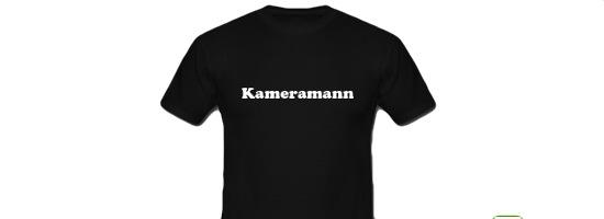 Tshirt Kameramann 550x200